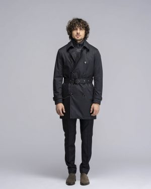 Trench Minosse Ads dark blu