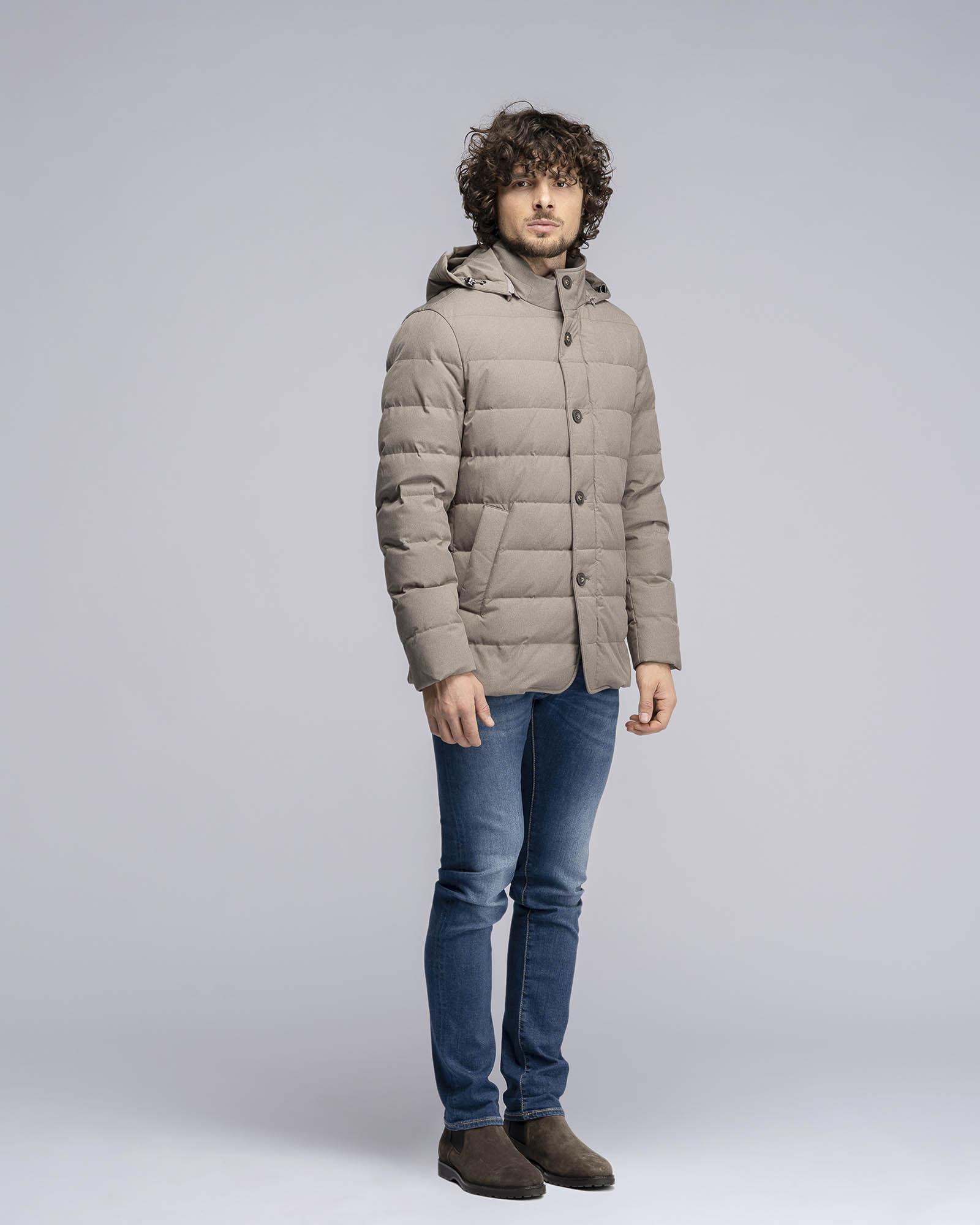 Giacca Outwear Imbottita Beige
